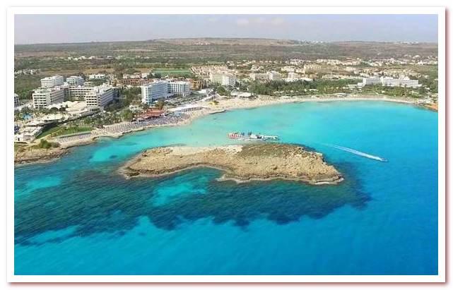 Курорты Кипра. Пляж Нисси-Бич