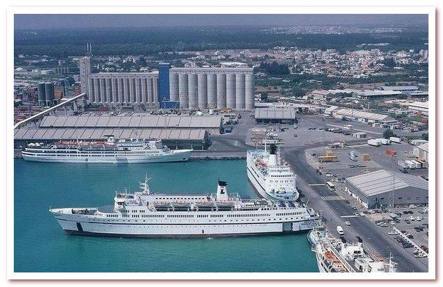 Курорты Кипра. Порт Лимасола