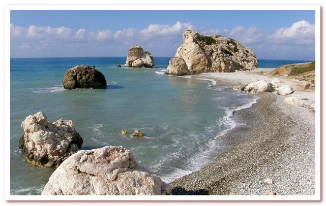 Курорты Кипра. Скала Афродиты