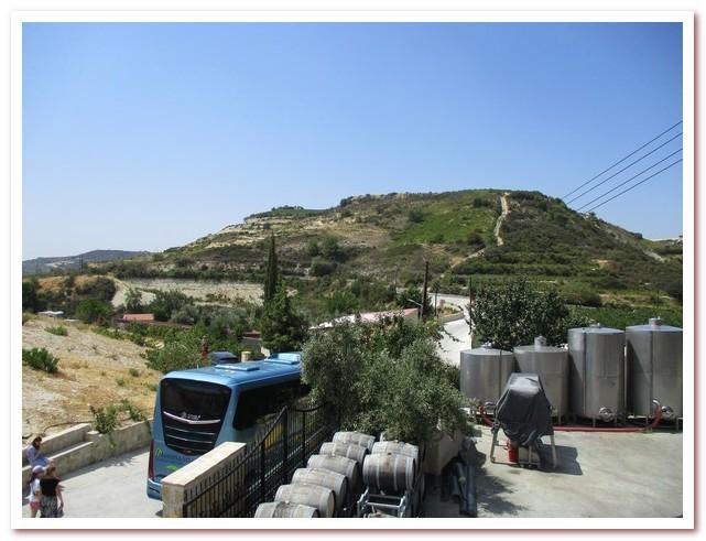 Курорты Кипра. Высокогорная винодельня в горах Троодос