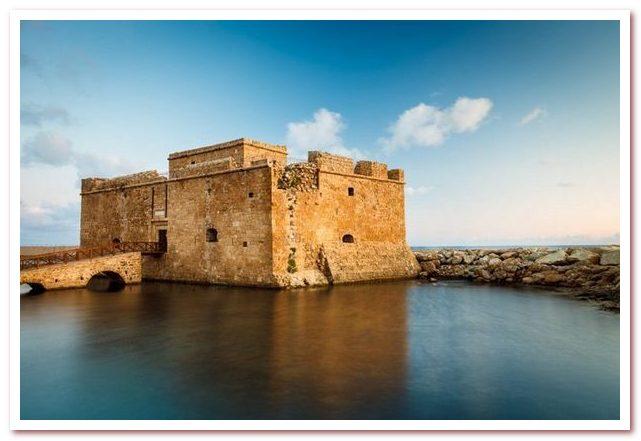 Курорты Кипра. Замок Пафоса