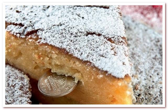 Пирог vasilopitta