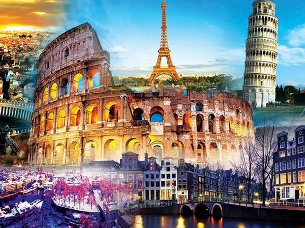 Топ-10 достопримечательностей Европы 2