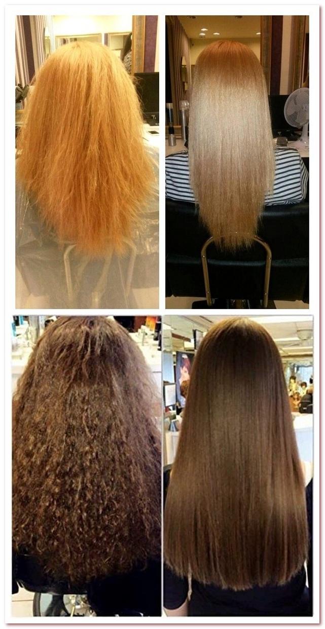 Ботокс для волос. До и после