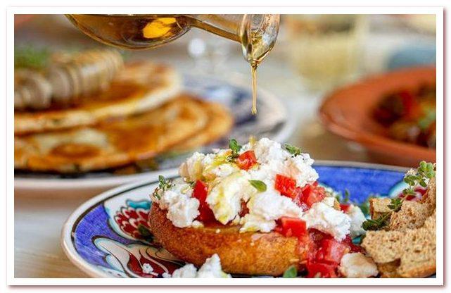 Кухня Кипра не обходится без оливкового масла