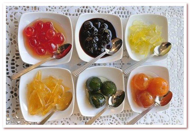 Кухня Кипра. Γλυκό του κουταλιού