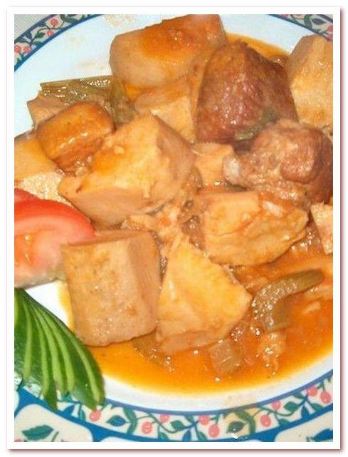 Кухня Кипра. Колокаси со свининой