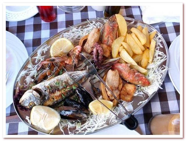 Кухня Кипра. Рыбное мезе
