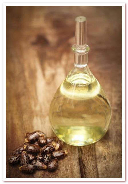 Масло для волос. Касторовое масло из семян клещевины