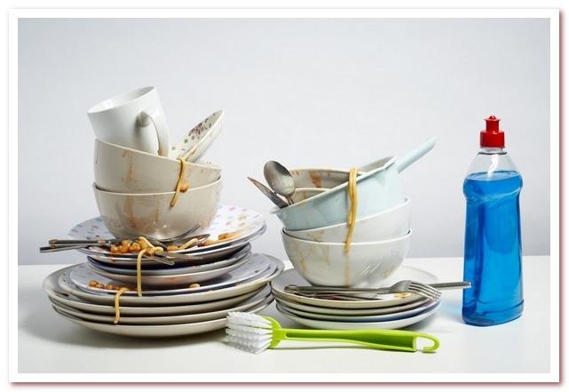 Способы экологического мытья посуды