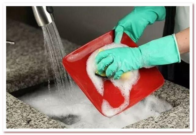 Способы экологического мытья посуды. Двухкамерный способ