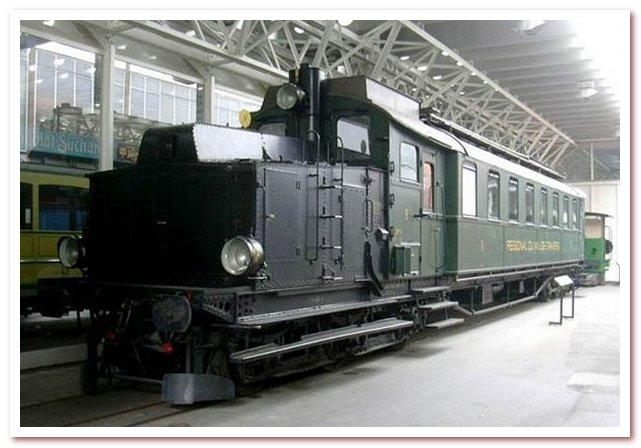 История железной дороги. Один из первых дизельных тепловозов
