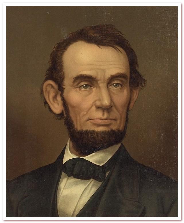 История железных дорог. Авраам Линкольн