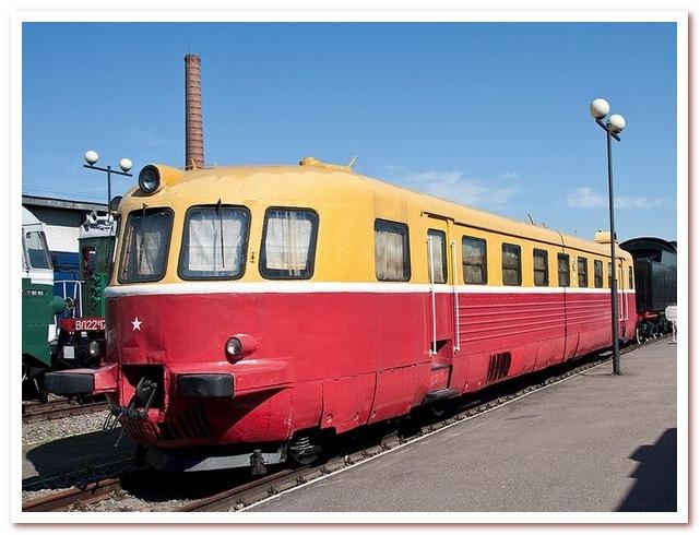 История железных дорог. Автомотриса Malaxa 1000