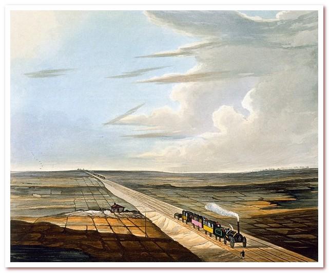 История железных дорог. Ливерпуль — Манчестер