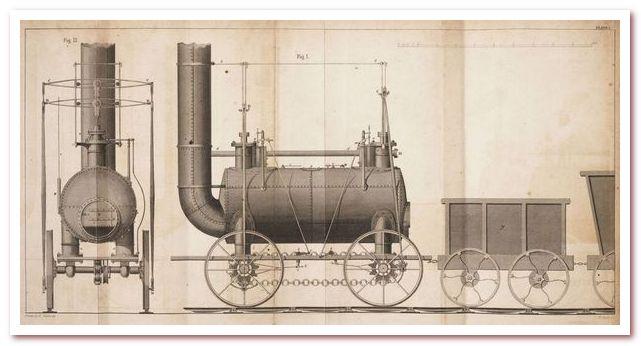 История железных дорог. паровоз Blücher