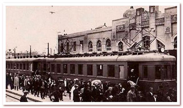 История железных дорог. Первая русская электричка серии С, 1929 год