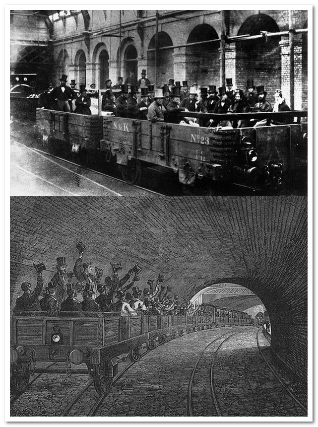 История железных дорог. Первое метро в Будапеште