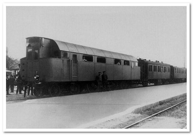 История железных дорог. Первый дизельный локомотив