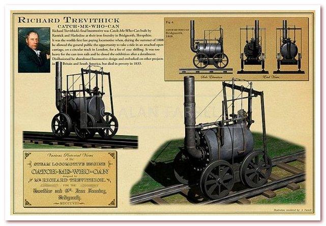История железных дорог. Поймай меня кто может