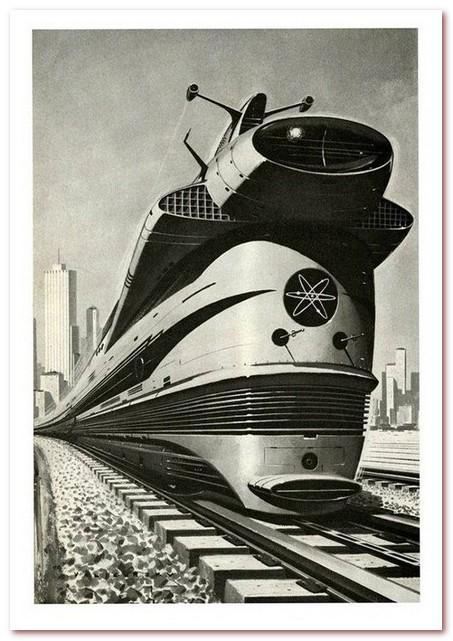 История железных дорог. Проект атомного поезда