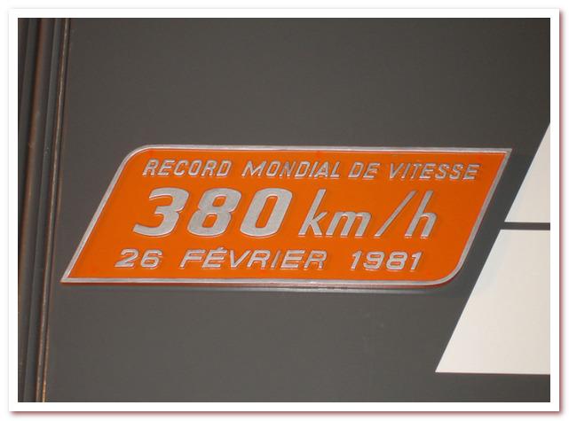 История Железных дорог. Рекорд скорости TGV
