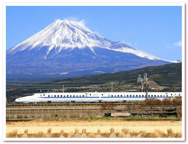 История железных дорог. Японская синкансэн