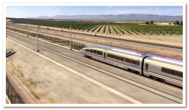 Калифорнийская высокоскоростная железная дорога