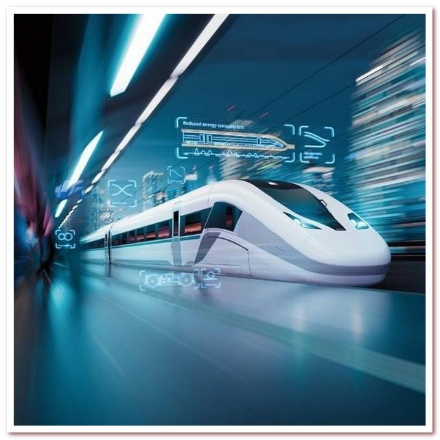 Новейший скоростной поезд Velaro Novo, 2018 г.