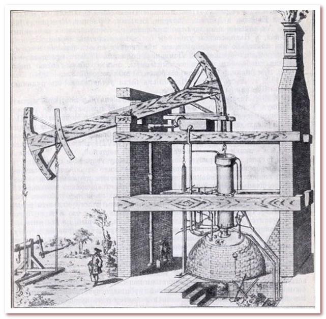 Паровая машина Томаса Ньюкомена