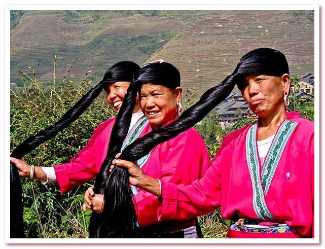 Рисовая вода для волос — секрет женщин Яо