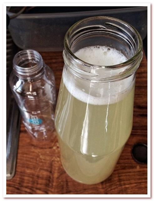 Рисовая вода для волос хранится в холодильнике