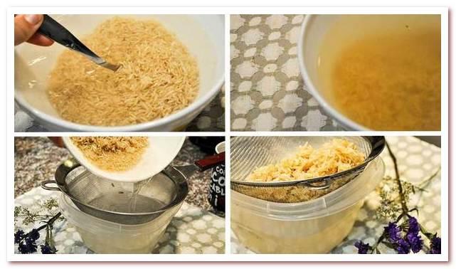Рисовая вода для волос. Ее легко готовить в домашних условиях