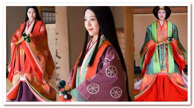 Рисовая вода для волос. Женщина периода Хэйан