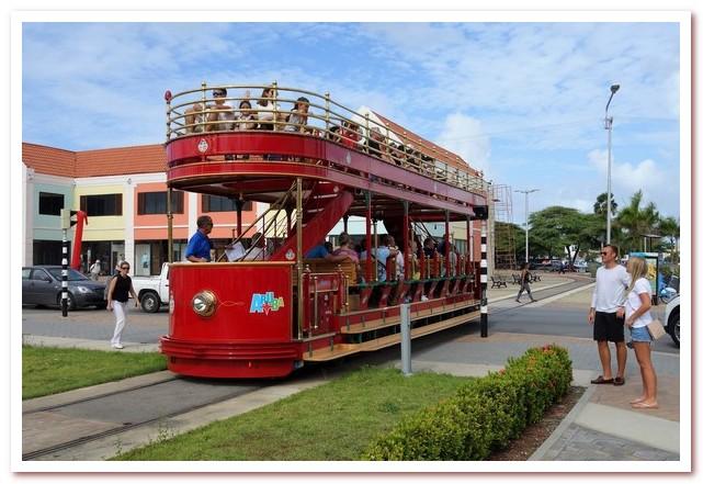 Трамвай в столице Арубы Ораньестаде работает на водороде по принципу Hydrail
